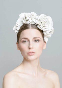 Kopfschmuck aus Leder für die selbstbewusste Braut!