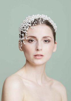 Haarschmuck aus Swarovski-Perlen