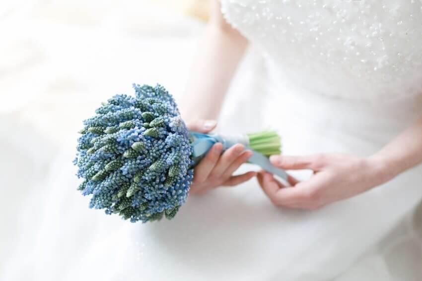 Foto: Blumen Dick – Waldbröl Brautstrauß Inspiration