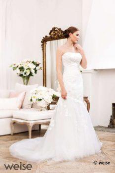 Brautkleid Meerjungfrau figurbetont