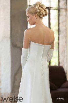 Brautkleid schmal geschnitten