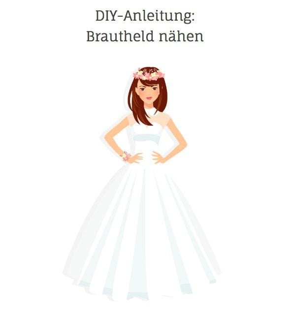 Bridal Buddy alternative Brautheld Nähanleitung DIY