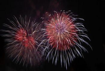 Feuerwerk Silvester Heiratsantrag Gefühl perfekt