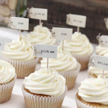 Cupcakes für Candy Bar bleibt im Trend