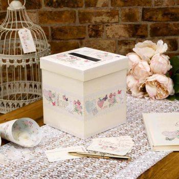 Box für Grüße an das Hochzeitspaar
