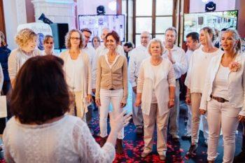 """Songrise Jazzchor auf der Hochzeitsmesse """"Tatsächlich Liebe"""""""