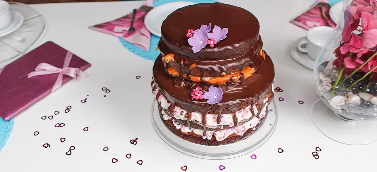 Der Neue Trend Der Hochzeitstorte Naked Cake