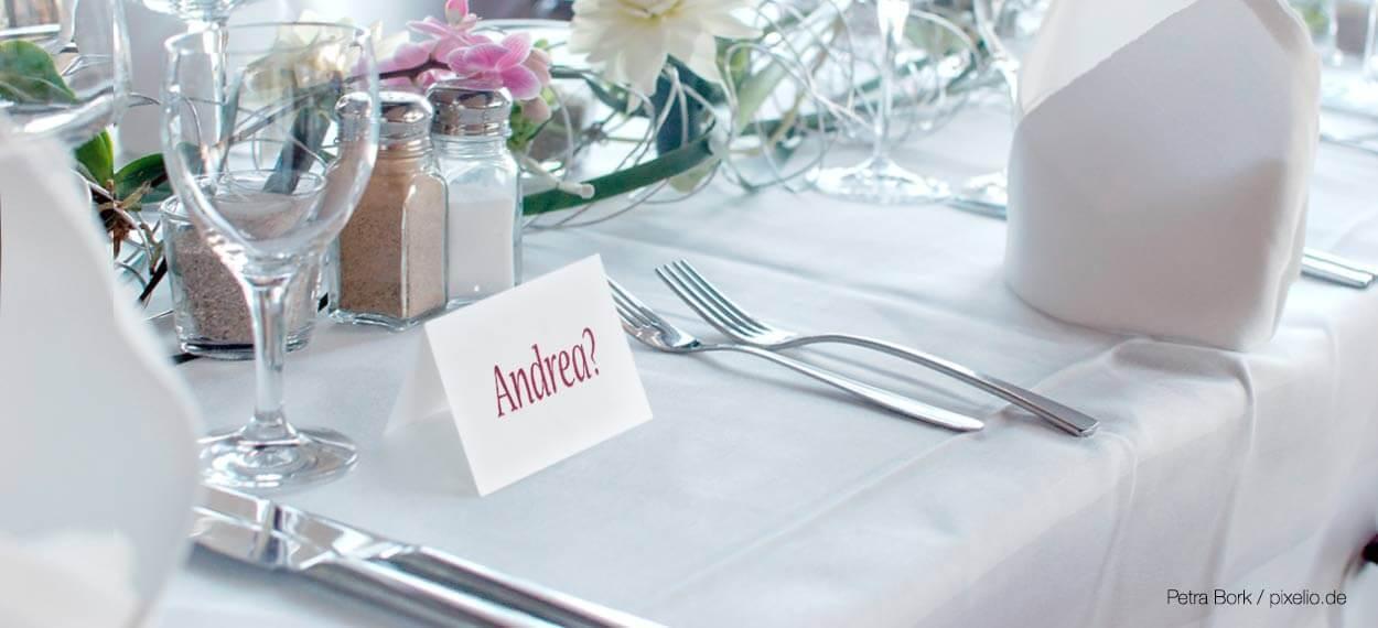 Namensgedachnis Auf Der Hochzeit Beeindruckt Ihr Eure Gaste