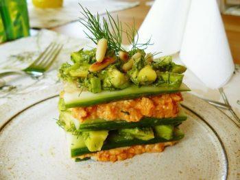 vegetarisches Hochzeitsmenü