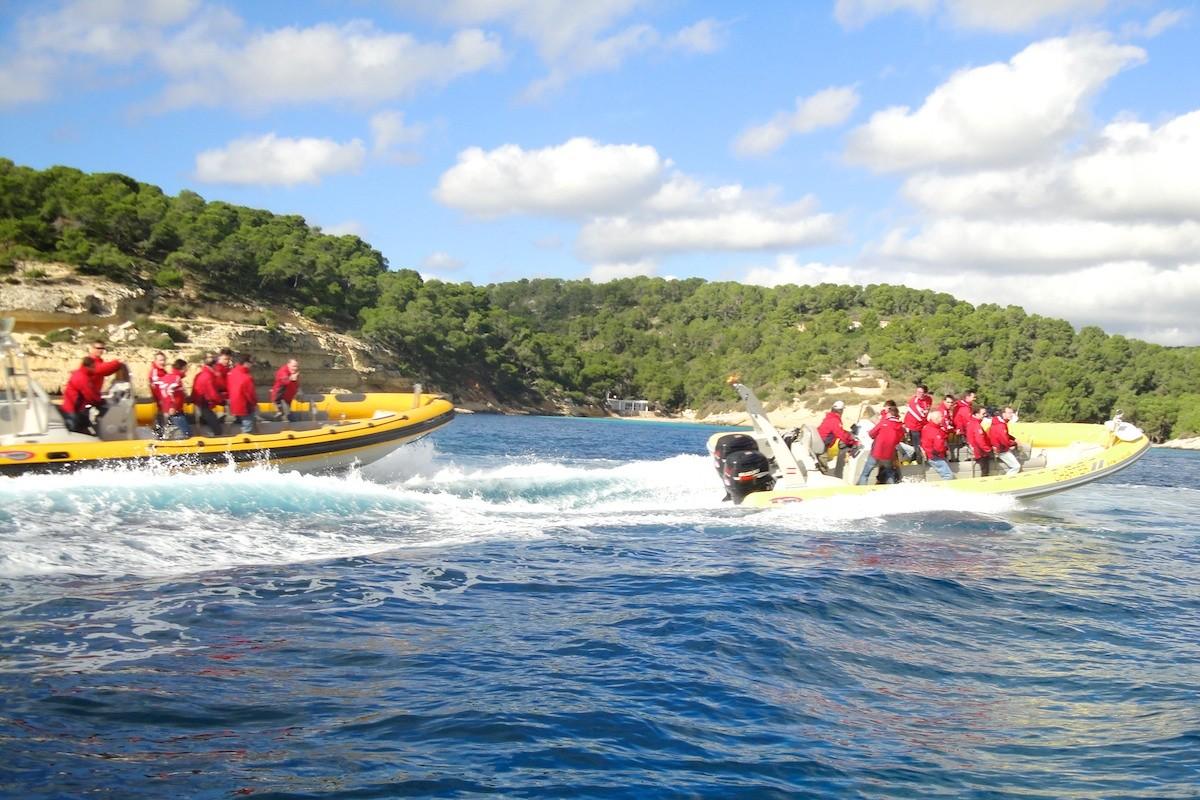 speedboot tour auf mallorca