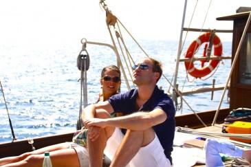 Historisches Segelboot Mallorca