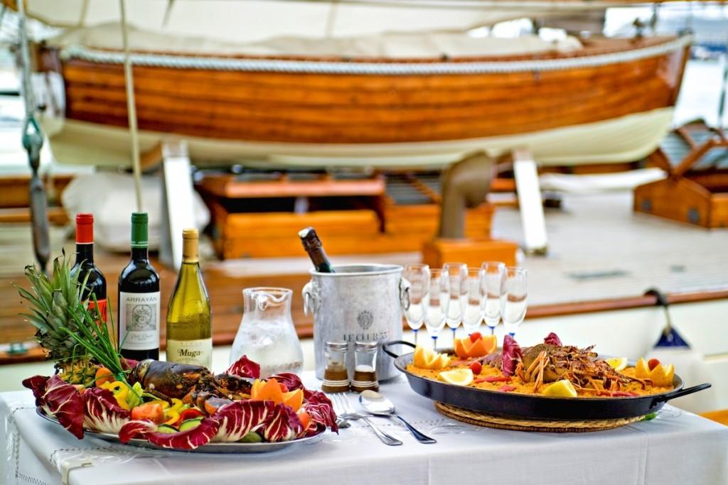Klassische Segelyacht Mallorca
