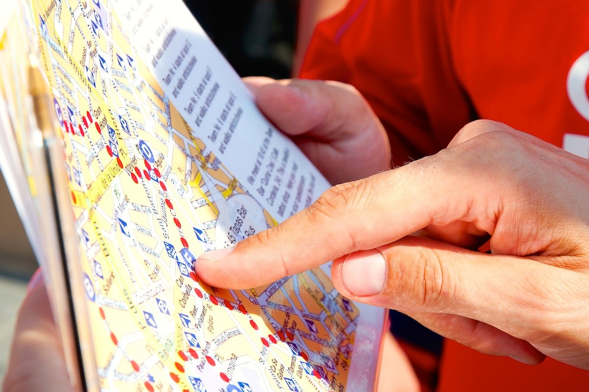 Orienteering tour on Mallorca