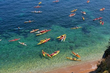 Sea kayaking mallorca