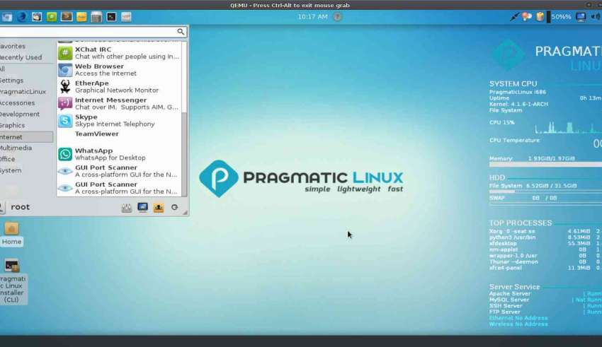 Pragmatic Linux