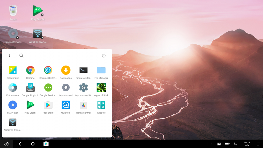 Remix OS Apps