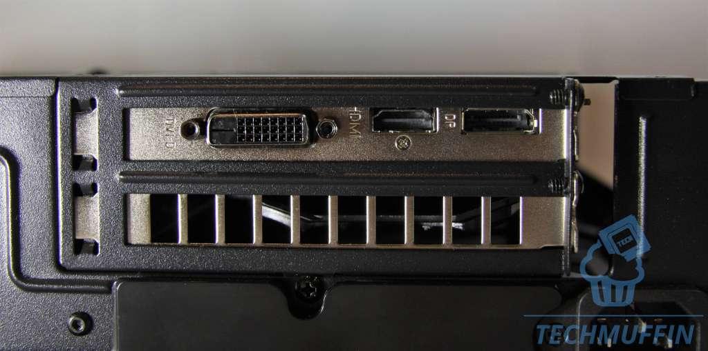 Foto porte di uscita video della GPU