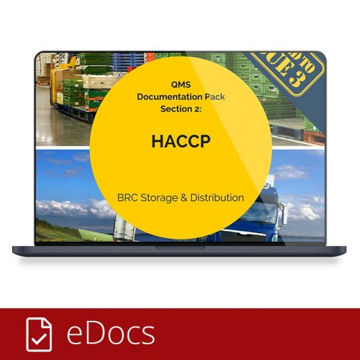 Storage and Distribution HACCP eDocs