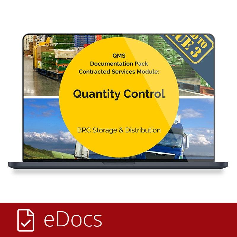 Quantity Control eDocs