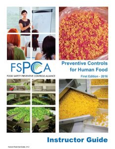 FSPCA Instructor Guide 2