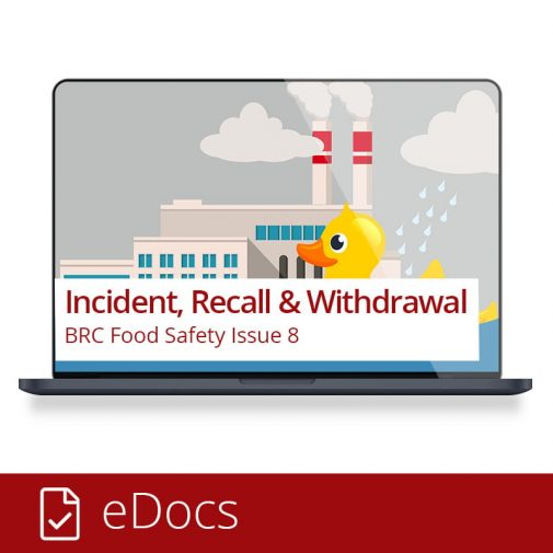 BRC Food - Incidents, Recalls, Withdrawals