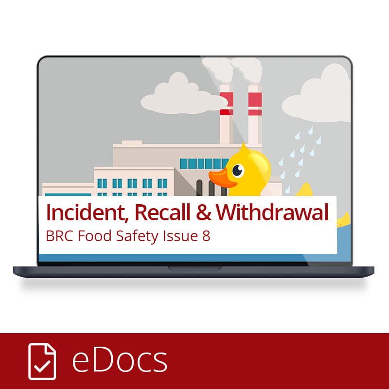 BRC Food - Incidents, Recalls, Withdrawals