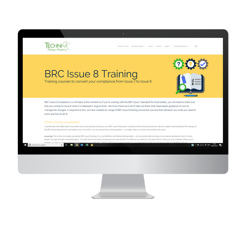 BRC Issue 8 Training