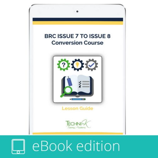 BRC Issue 8 Gap Analysis Audit - simple to use, download