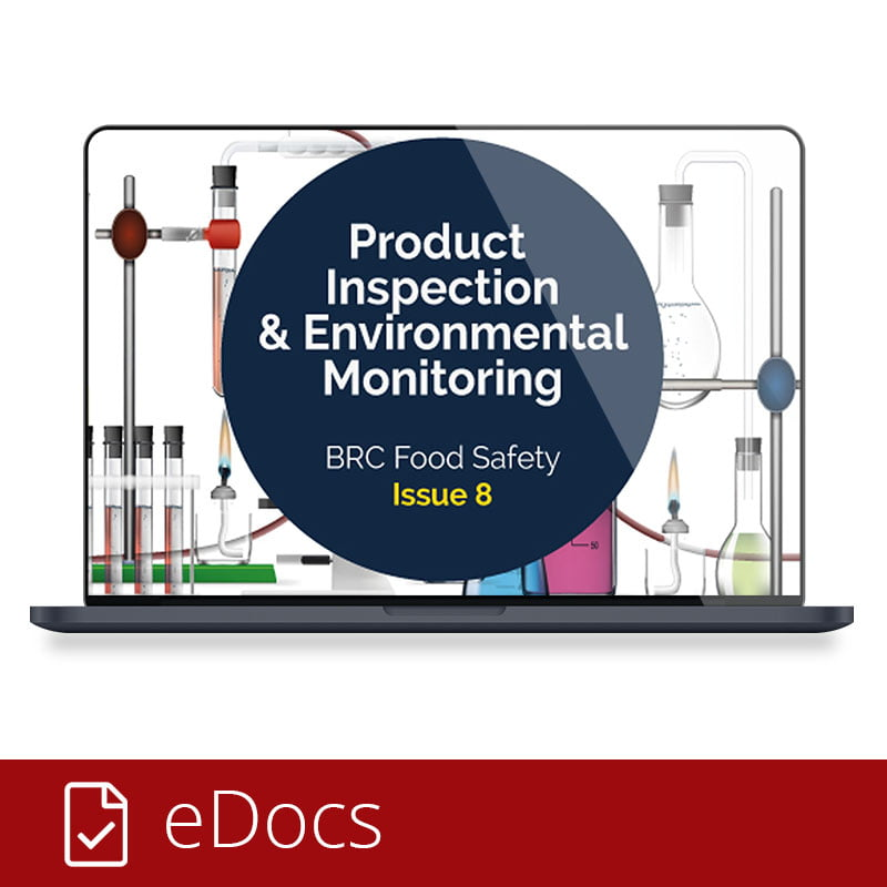 Product Inspection and Environmental Monitoring eDoc