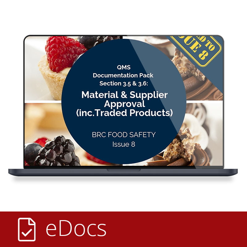 Material And Supplier Approval eDocs