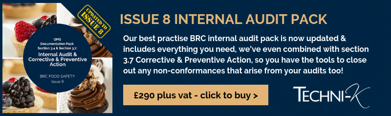 BRC Internal Audit Issue 8