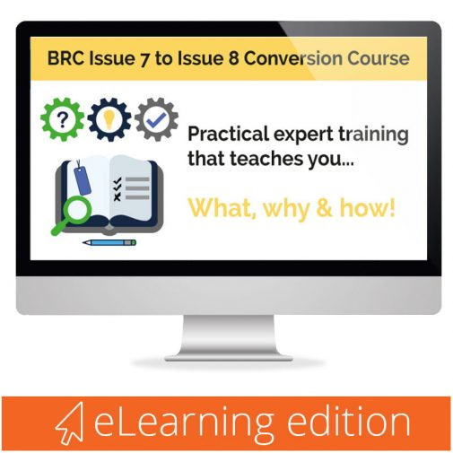 BRC Issue 8 eLearning