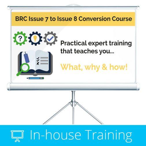 BRC Issue 8 Training