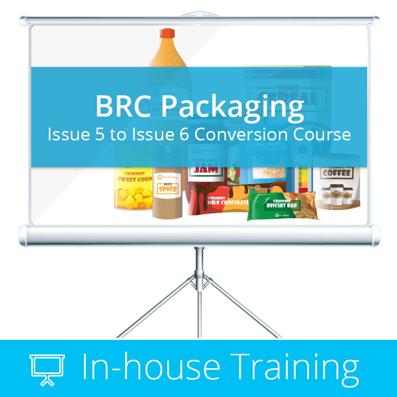 BRC Packaging Issue 6 In-House Training