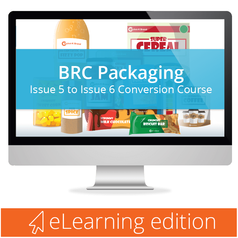 BRC Packaging Issue 6 eLearning