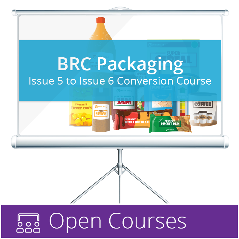 BRC Packaging Issue 6 Open Courses