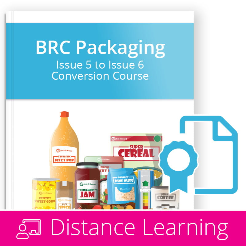 BRC Packaging Issue 6 - Distance Learning