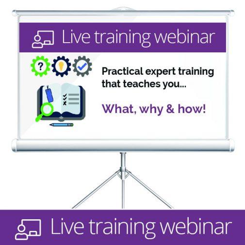Live Training Webinars