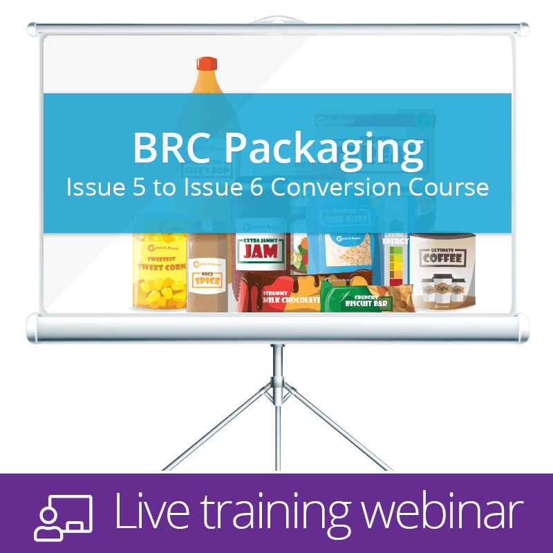 BRC Packaging Issue 6 training