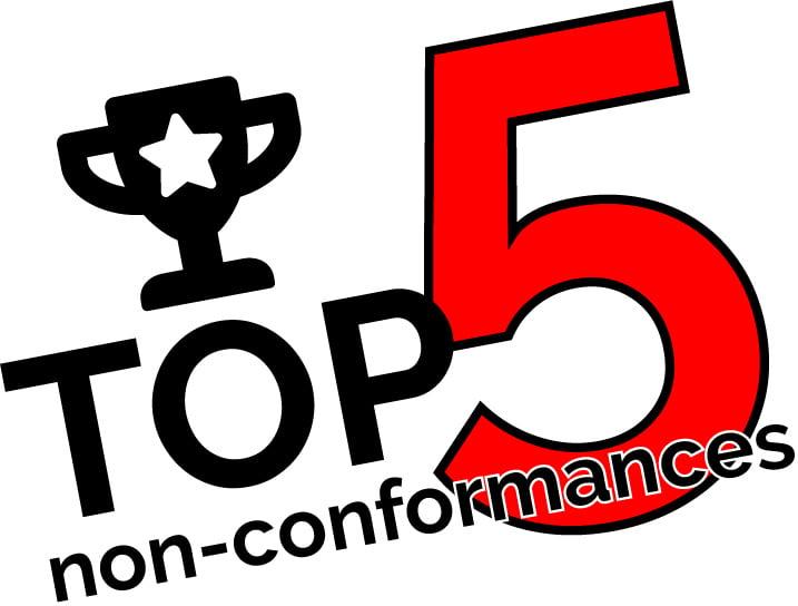 Issue 8 non conformances