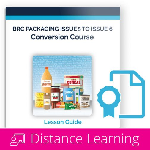 BRC Packaging Issue 6 Distance Learning