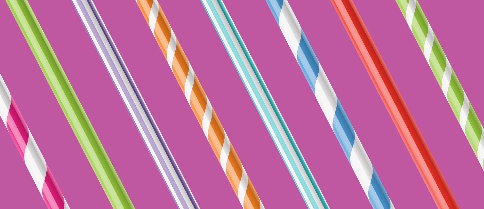 Plastic straws alternatives