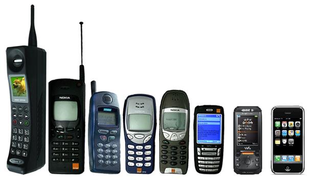 Historien om mobiltelefonen