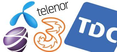 Teleselskabernes mobilnet – Mobildækning & internethastighed