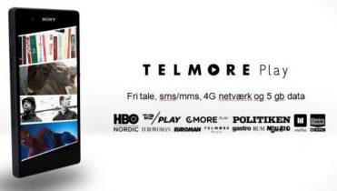 Hvad koster Telmore Play med HBO, TV2 & Musik?