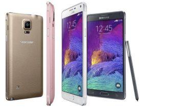 Test & Pristjek på Samsung Galaxy Note 4