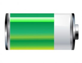 Mobiltelefoner med lang batteritid