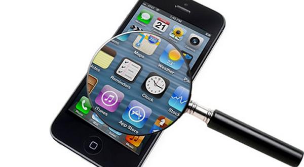 mobiltelefoner med små skærme