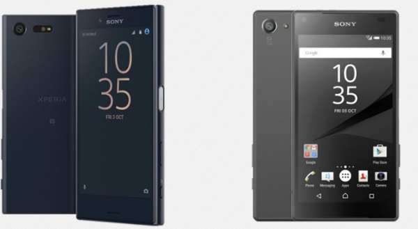 bedste lille mini mobil xperia x compact vs xperia z5 compact