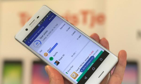 ryd op i mobil med cleaner app